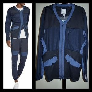 Adidas x WM TT Zip Tech Track Jacket Cardigan